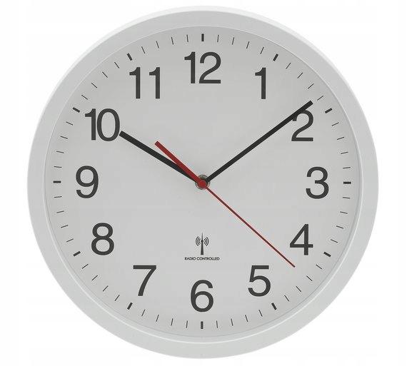 Bialy Zegar Scienny Radiowa Synchronizacja Czasu 7699098756 Oficjalne Archiwum Allegro