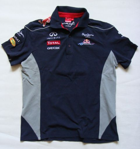PEPE JEANS RED BULL POLO ROZM. XL
