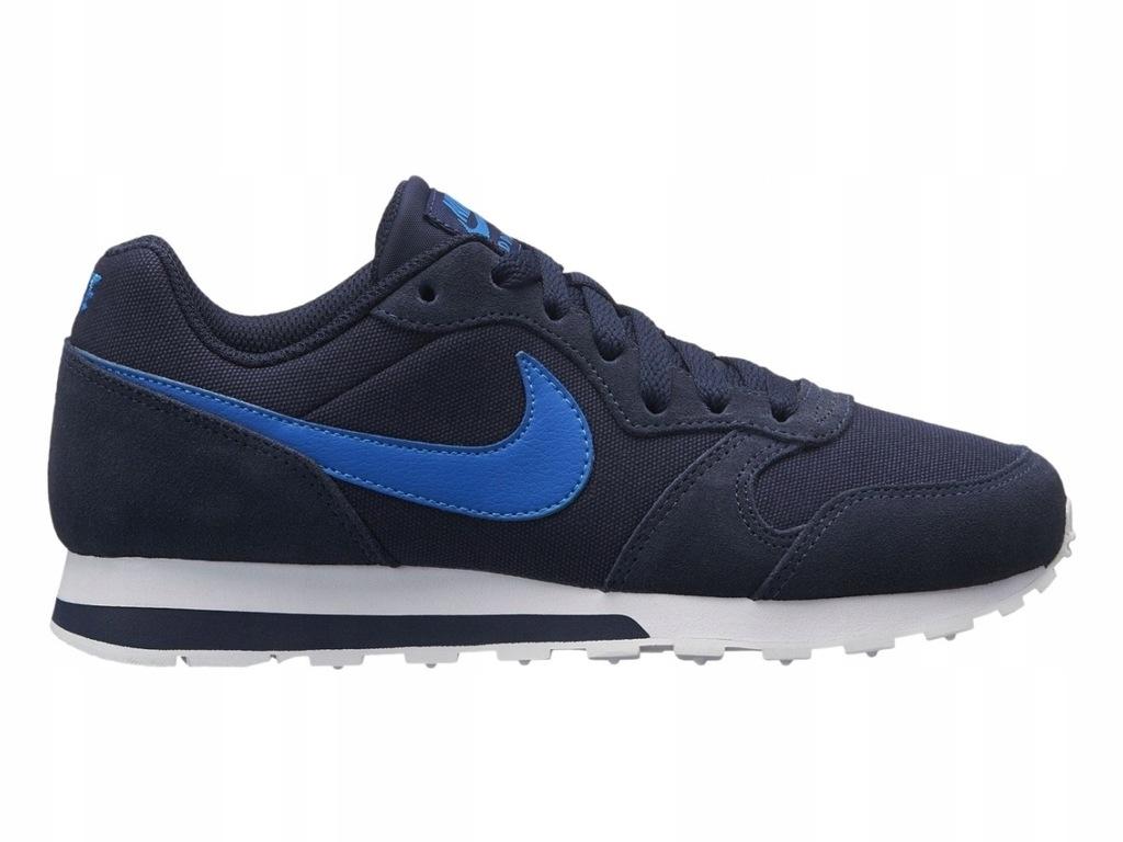 Buty Nike Md Runner GS 807316 410 Granatowe 36,5 Cena