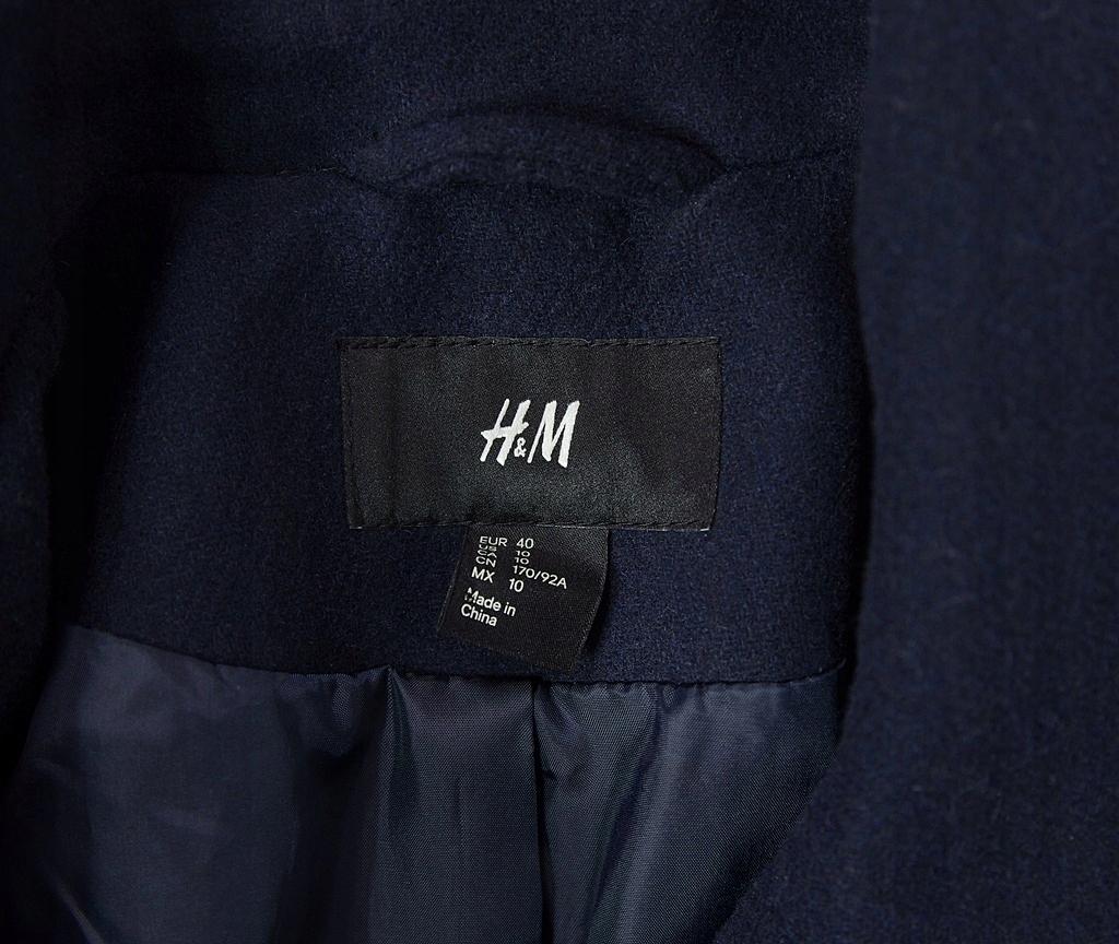 H&M płaszcz marynarski wełna zara cos uterque 7600781889