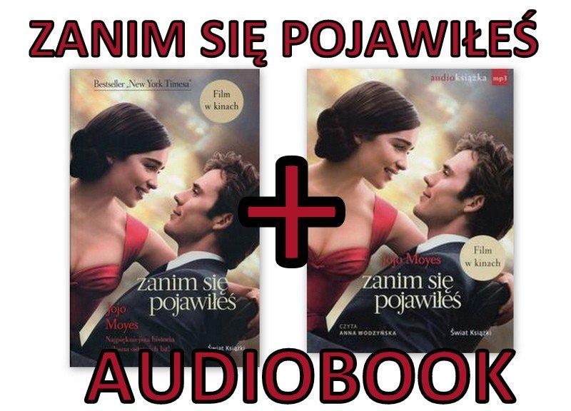 Moyes Jojo Zanim Sie Pojawiles Audiobook Miekka 6443200316 Oficjalne Archiwum Allegro