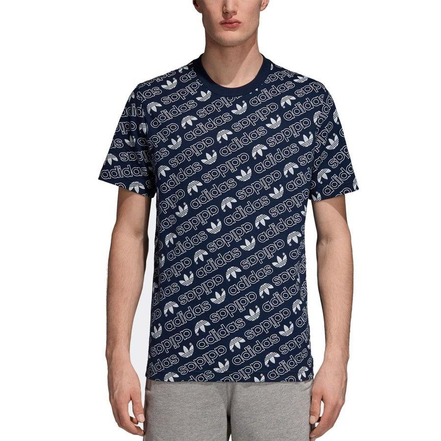 Koszulka adidas Originals Monogram DH2749 S czarny