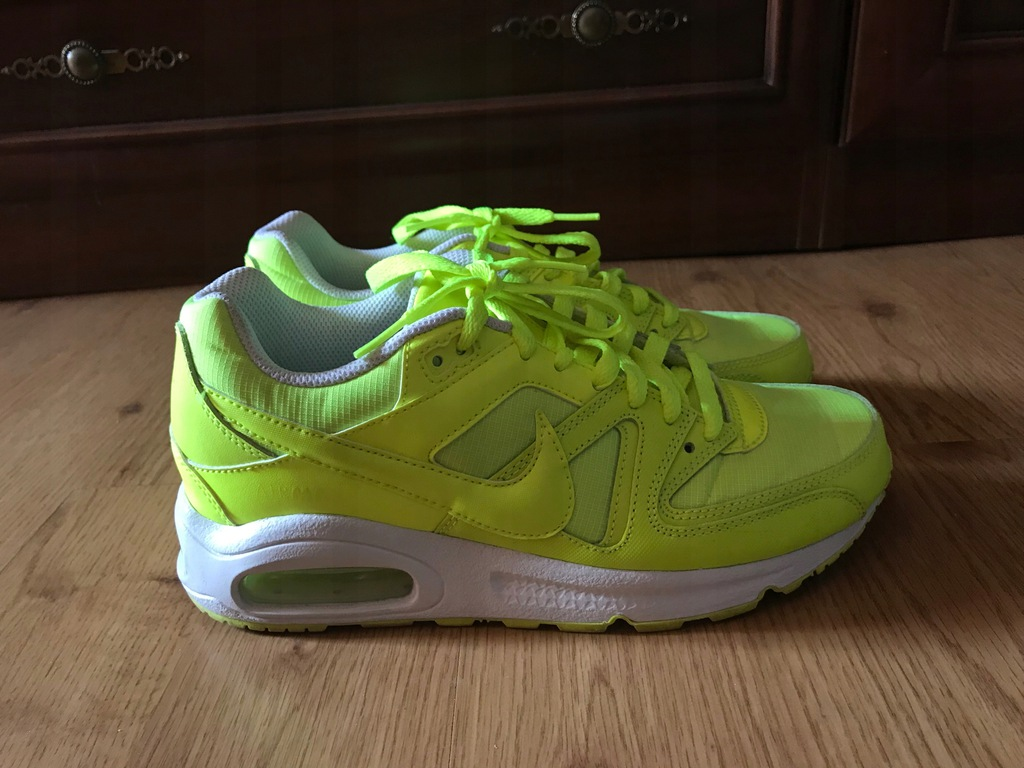 Buty Nike Air Max Command (GS) Zielony Neon , Nike