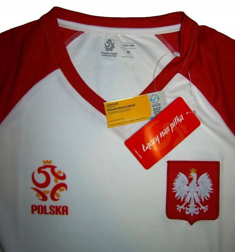 Nowa Koszulka Polska Pzpn 2018 Lewandowski Poland 7716327794 Oficjalne Archiwum Allegro