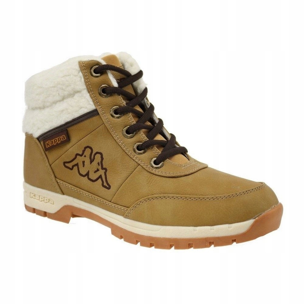 Buty zimowe młodzieżowe BRIGHT MID Fur T czarne