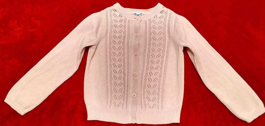 Różowy sweterek Gymboree 5-6 lat (116)