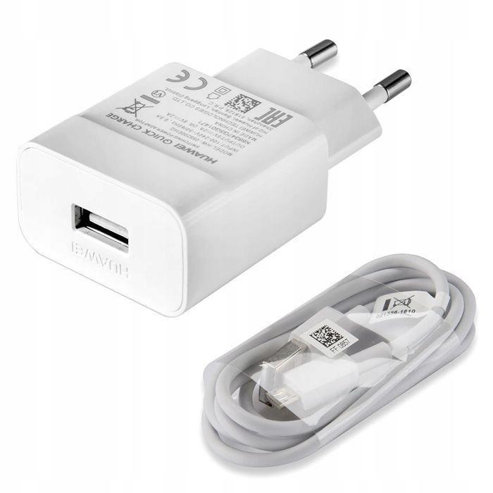 ORYGINALNA Szybka ładowarka Huawei micro USB