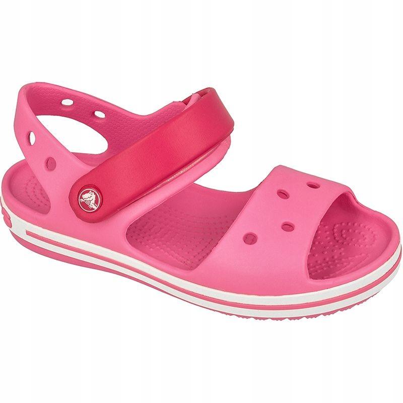 Sandały Crocs Crocband Jr Różowe 20 21 7124098480