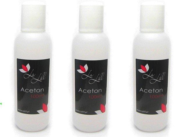 100% CZYSTY ACETON 100ml usuwanie tipsów hybryd