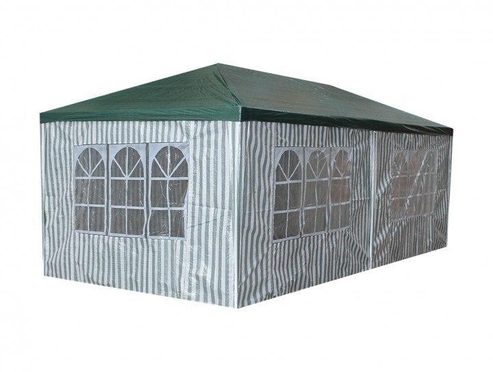 Namiot ogrodowy 3x6 m automatyczny, zielony pawilon handlowy