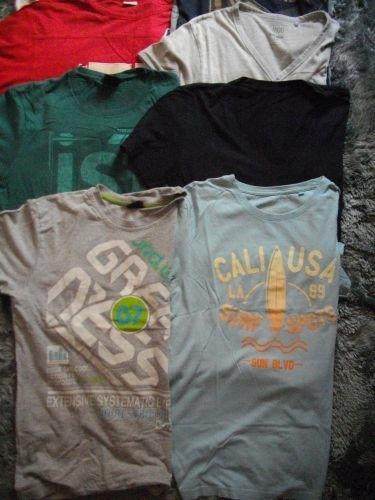 zestaw koszulek t-shirtów r.M C&A house 10 szt