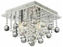 Lampa z kryształkami + led + pilot Castorama