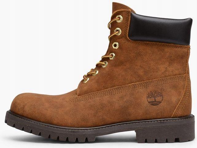 Buty męskie Timberland 6 Inch Boot brązowe r. 43