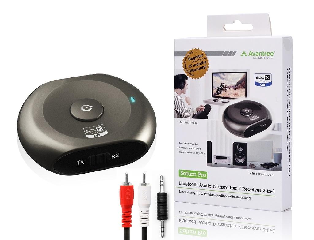 Odbiornik Bluetooth Avantree Saturn Pro do HTC U11