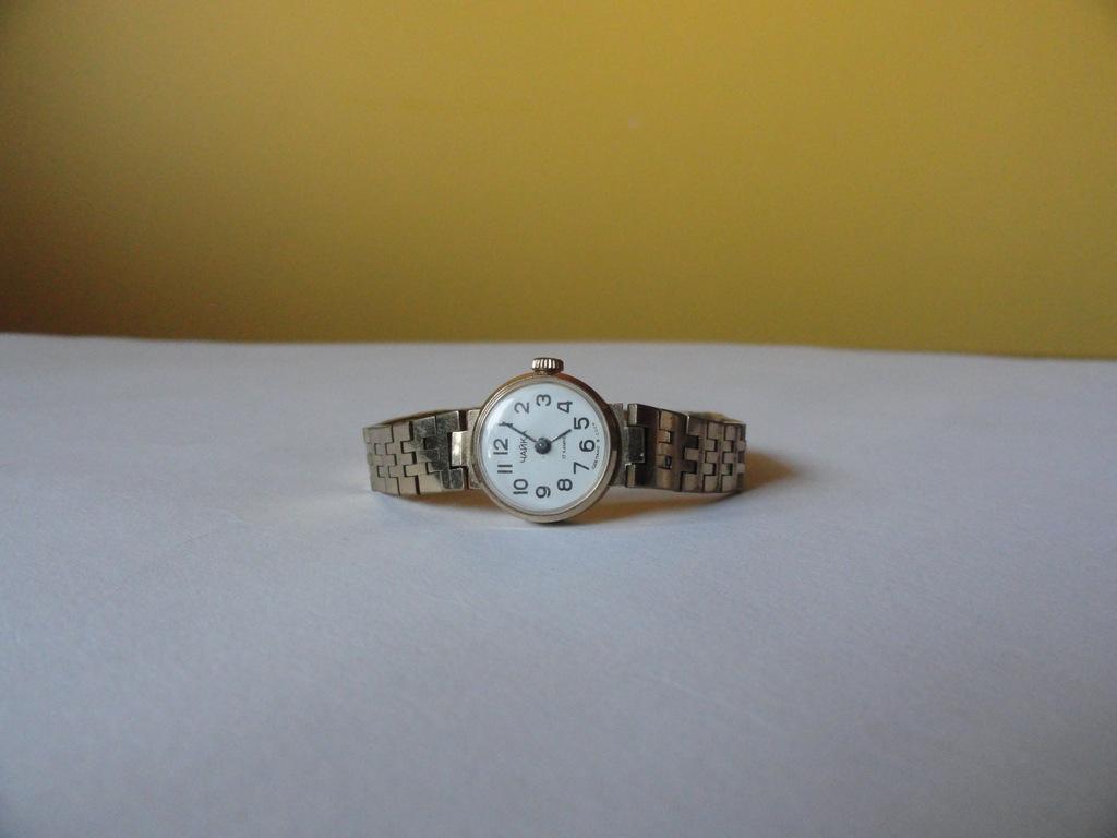Zegarek damski CZAJKA pozłacany bransoleta 7363446552