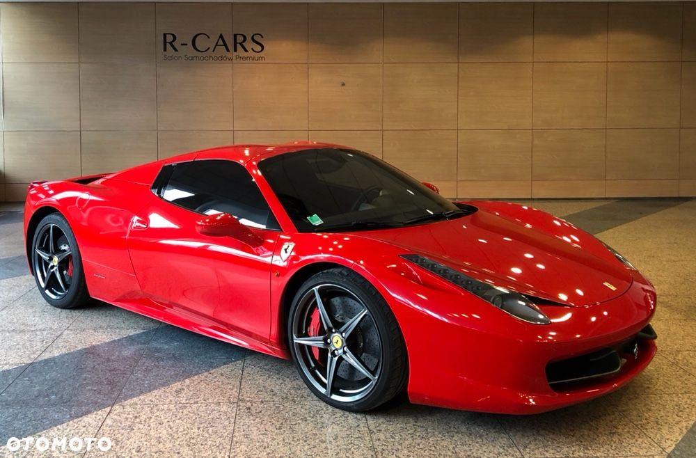 Ferrari 458 Italia Spider Przebieg To 18 Tys Km R 7312392508 Oficjalne Archiwum Allegro
