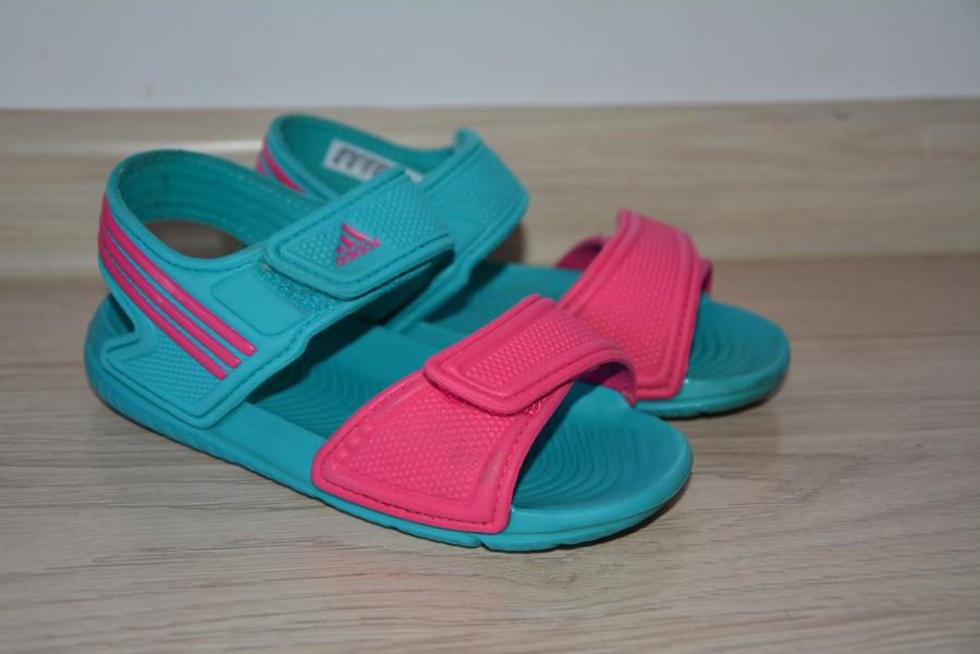 Sandały Adidas dla dziewczynki rozm.27