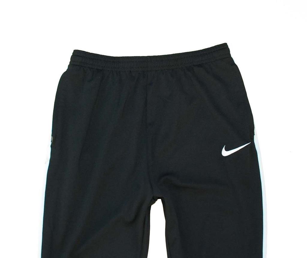 NIKE DRI FIT spodnie dresowe zwężane 158 170 cm