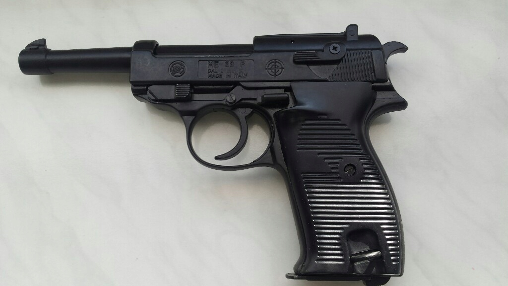 Pistolet hukowy WALTHER P38 PAK