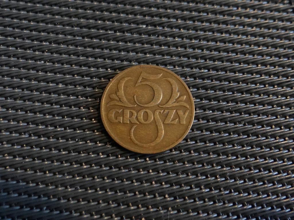 5 Groszy 1934 rzadka !!!