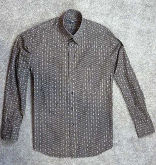 VISTULA koszula męska - M 42 brąz