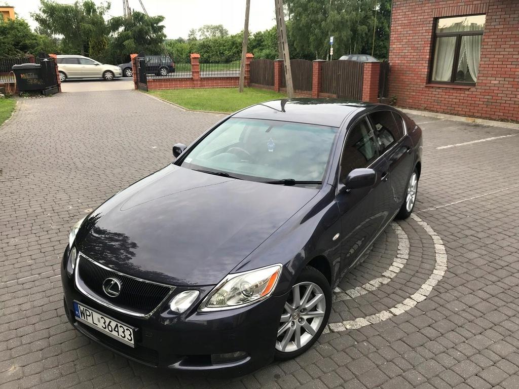 Lexus Gs 300 Executive Anglik Zarejestrowany Pl 7609191573 Oficjalne Archiwum Allegro