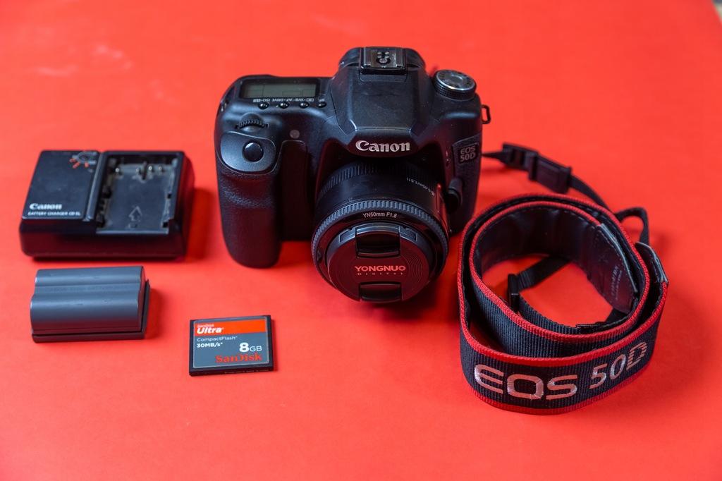 Canon Eos 50d 41tys Zdjec Yn 50mm 1 8 7656725011 Oficjalne Archiwum Allegro