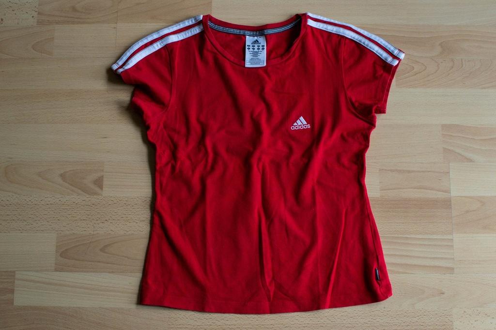 Czerwona koszulka ADIDAS XS Mundial Polska