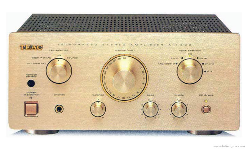 TEAC A-H500i Stereo + Pilot/ GWAR.