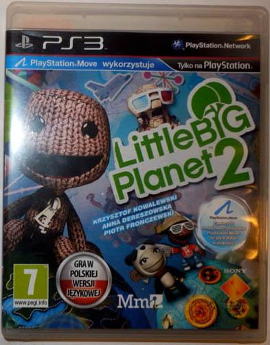 Little Big Planet 2 Lbp Pl Ps3 Wawa Firma 7725174633 Oficjalne Archiwum Allegro