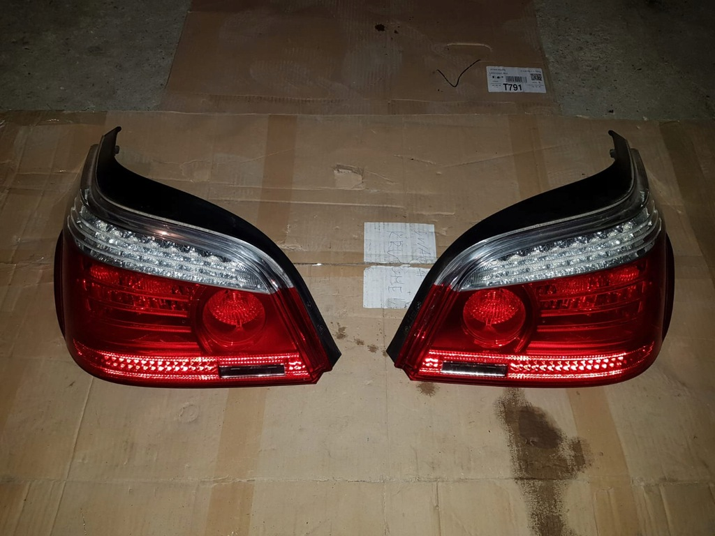 Lampy Tyl Bmw E60 Lift Lci Led Komplet Idealne