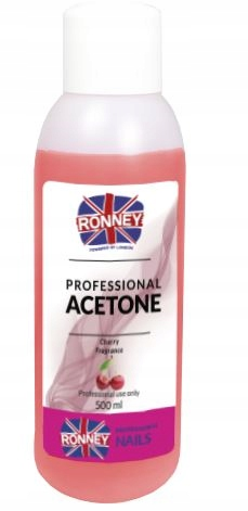 Aceton Remover Wiśnia RONNEY 500 ml