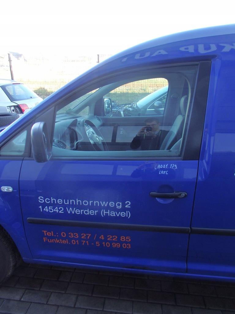 DRZWI LEWE PRZEDNIE VW CADDY LA5C 2K 03-08 Kartuz