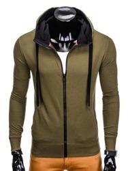 Bluza męska rozpinana sport OMBRE AMIGO granat M