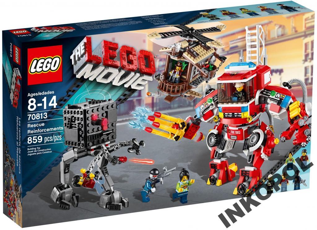 Lego Movie 70813 Przygoda Pojazdy Ratownicze 24h 6687424299 Oficjalne Archiwum Allegro