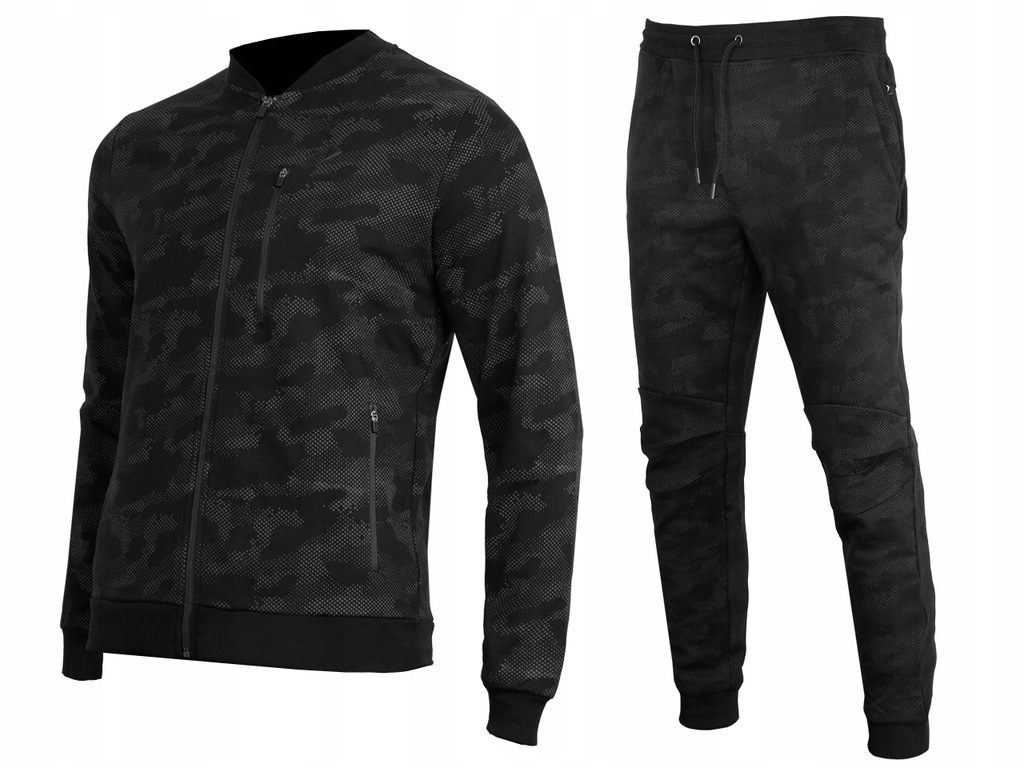 OUTHORN Dresy Dres Męskie Bluza + Spodnie CAMO M