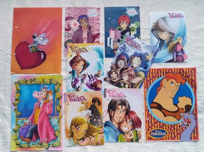 Karteczki Wklady Segregator Zestaw 10 Szt 7487338833 Oficjalne Archiwum Allegro