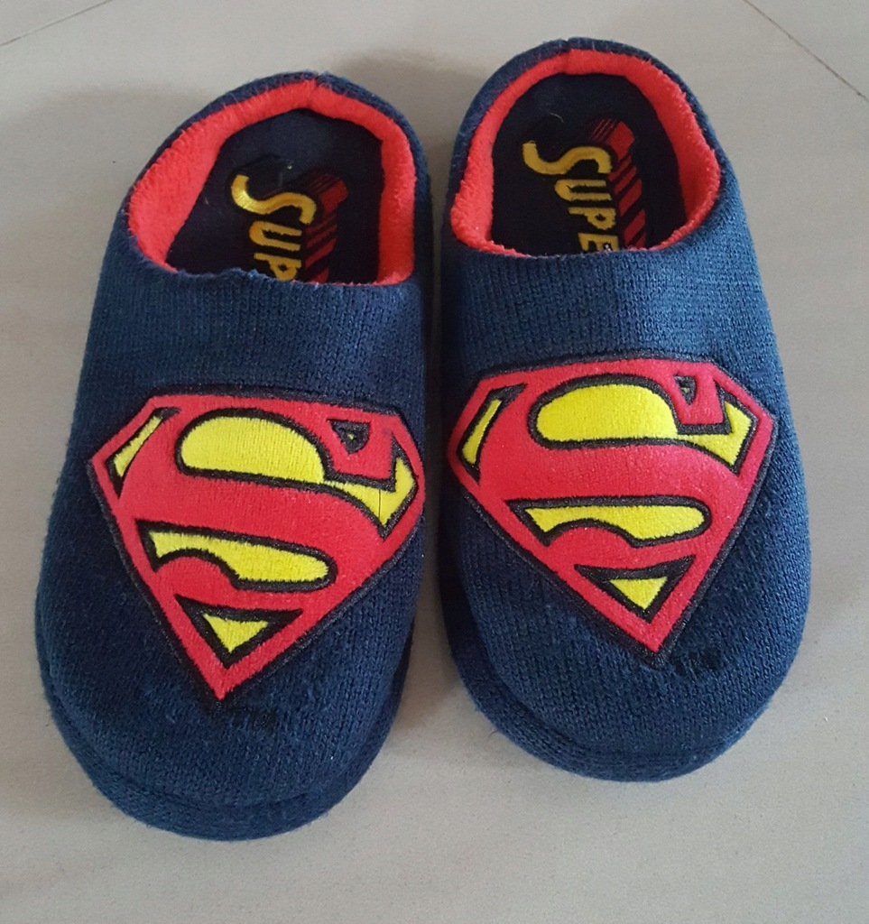 SUPERMAN kapcie męskie 41