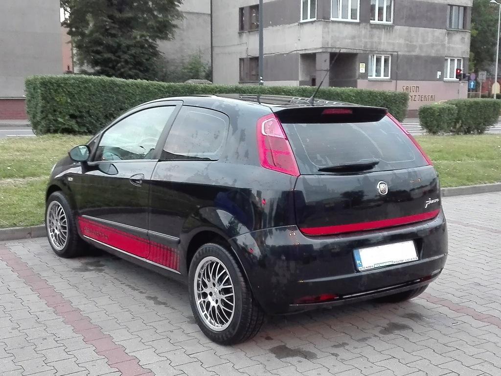 Fiat Grande Punto Sport 1 3 Mjet 90hp 7432539056 Oficjalne Archiwum Allegro