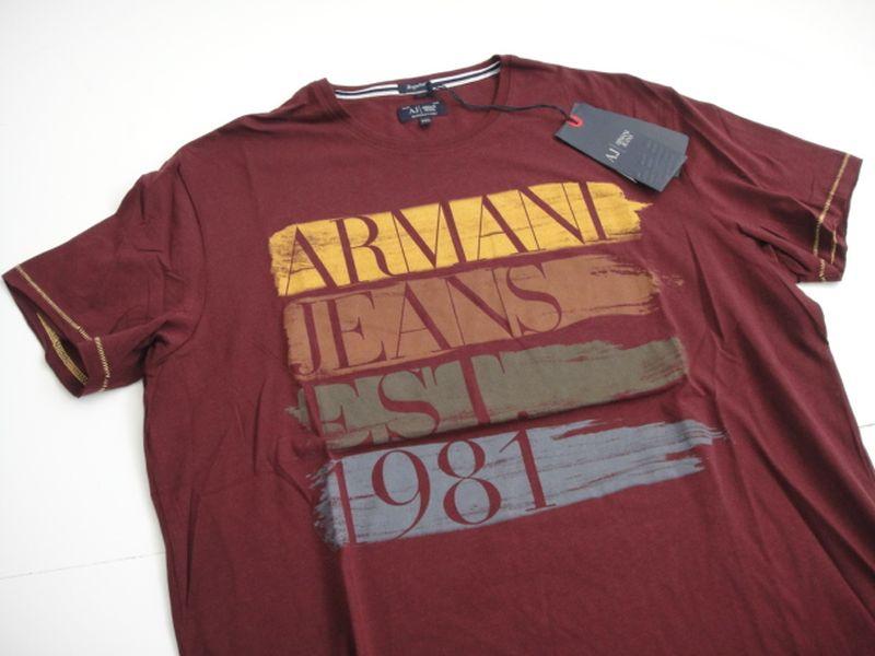 ARMANI JEANS t-shirt rozm XL ŁÓDŹ