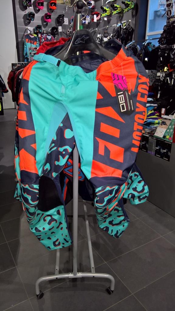 Spodnie Fox 180 Lady Aqua 4