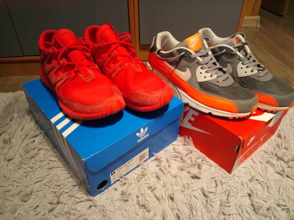 Buty Męskie Nike Air Max 90 oraz Adidas Tubular