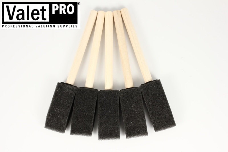 ValetPRO Foam Detailing Brushes 5 szt. pedzelki