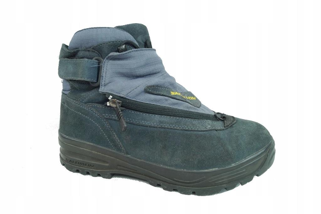 SALOMON CONTRAGRIP buty trekkingowe SKÓRA 40 23
