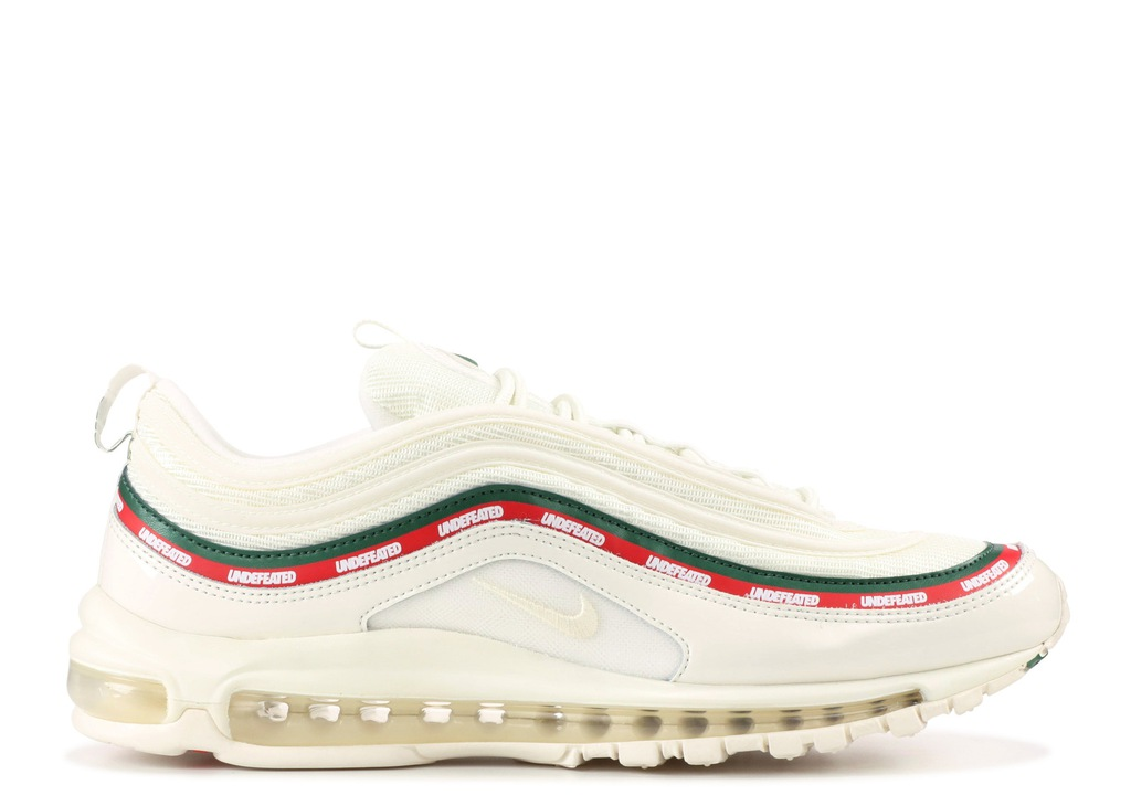NIKE AIR MAX 97 x UNDEFEATED White BIAŁE r. 39