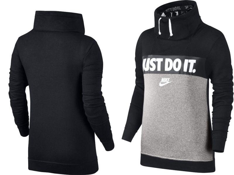 Nike BLUZA DAMSKA JUST DO IT SWEATSHIRT 854306 010 854306 010