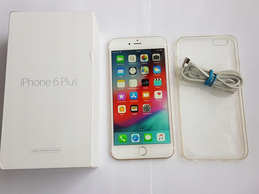 Iphone 6 Plus 16gb A1524 Brak Icloud Uszkodzony 7779010515