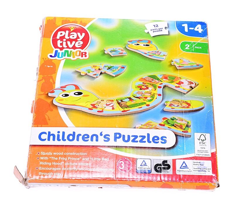 6002 75 Play Tive Junior W W Puzzle Gasiennica 12 7116133074 Oficjalne Archiwum Allegro