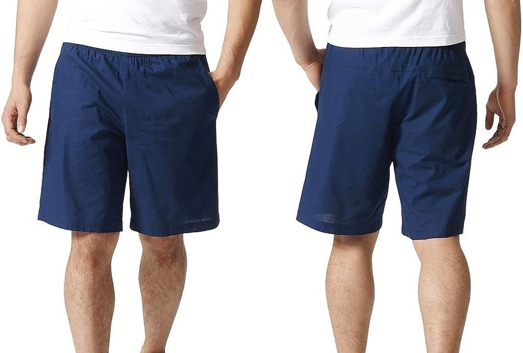 Adidas ESSENTIALS COTTON WOVE (S) Spodenki Męskie