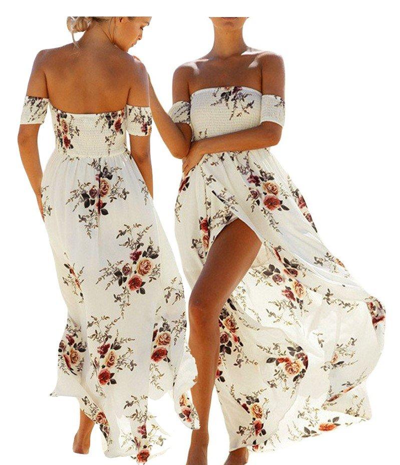 X150 Sukienka Letnia Boho Kwiaty Kolory Xxl 7311096627 Oficjalne Archiwum Allegro